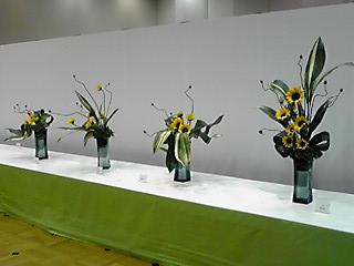 北九州市制50周年記念 いけばな展