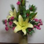 お正月の花 体験講座
